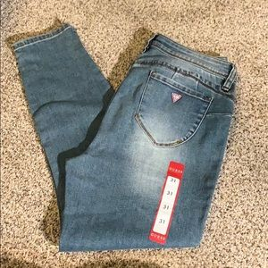 NWT GUESS denim pants
